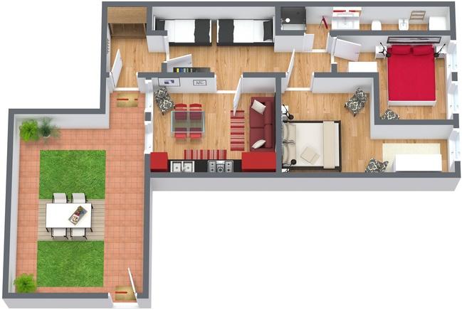 Planimetrics Apartment N.82