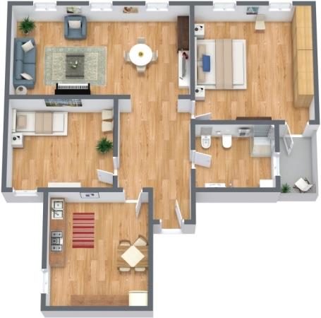 Planimetrics Apartment N.296