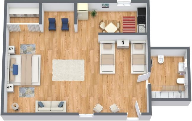 Planimetrics Apartment N.299