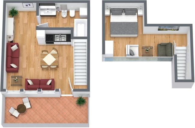 Planimetrics Apartment N.75