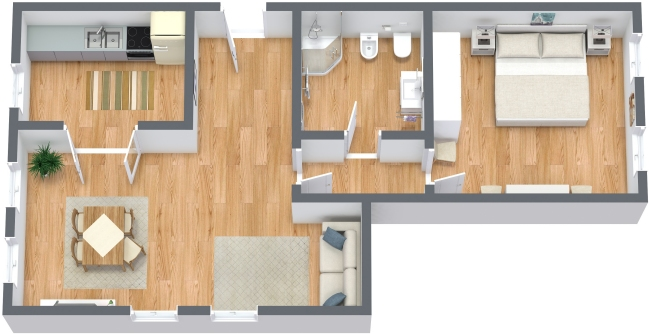 Planimetrics Apartment N.302