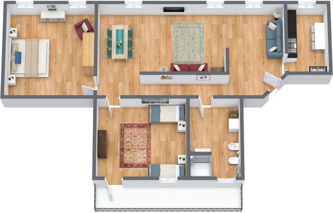 Planimetrics Apartment N.303