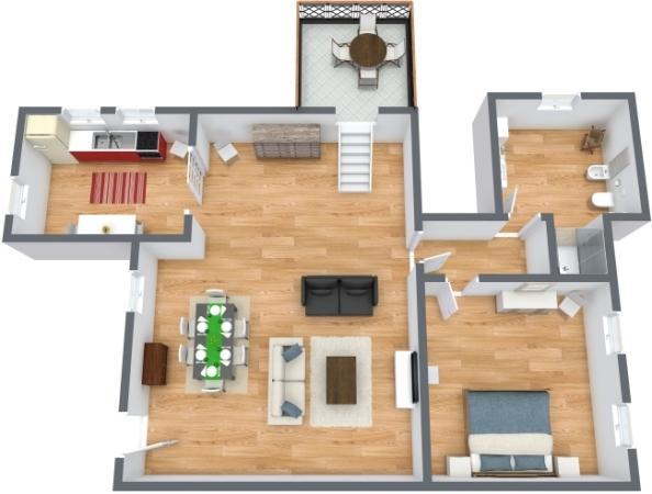 Planimetrics Apartment N.305