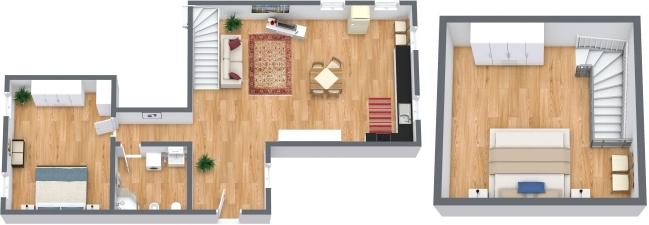 Planimetrics Apartment N.309