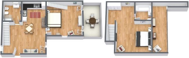 Planimetrics Apartment N.312