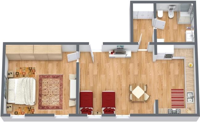 Planimetrics Apartment N.318