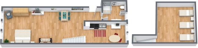 Planimetrics Apartment N.320