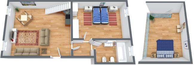 Planimetrics Apartment N.322