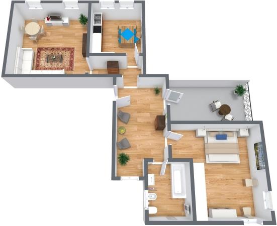Planimetrics Apartment N.325