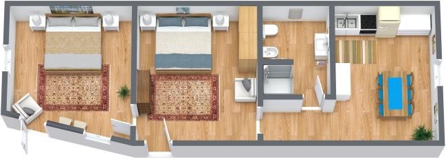 Planimetrics Apartment N.328