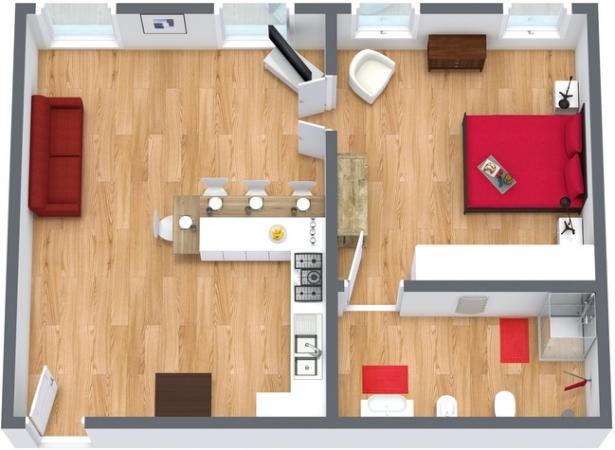 Planimetrics Apartment N.33