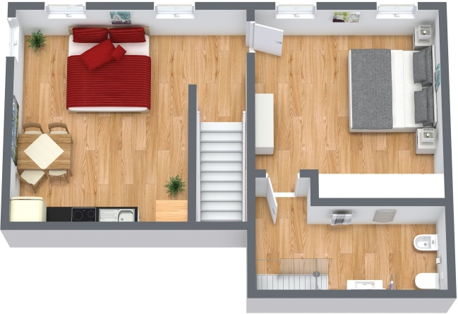 Planimetrics Apartment N.336