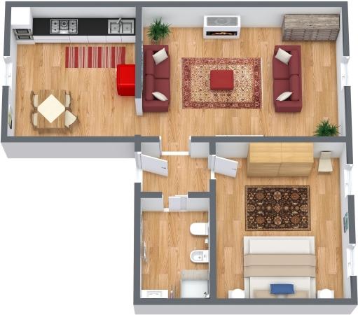 Planimetrics Apartment N.337