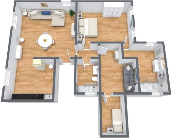 Planimetrics Apartment N.338