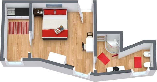 Planimetrics Apartment N.34