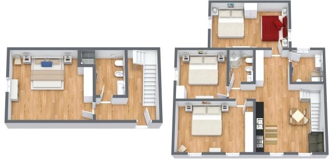 Planimetrics Apartment N.342