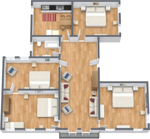 Planimetrics Apartment N.345