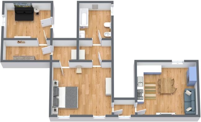 Planimetrics Apartment N.347