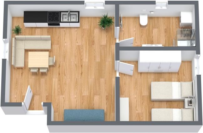 Planimetrics Apartment N.352