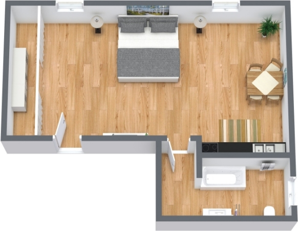 Planimetrics Apartment N.357
