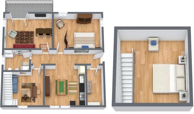 Planimetrics Apartment N.358