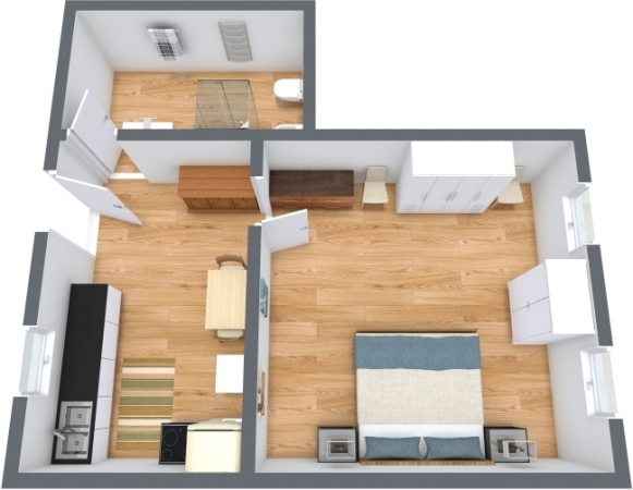 Planimetrics Apartment N.359