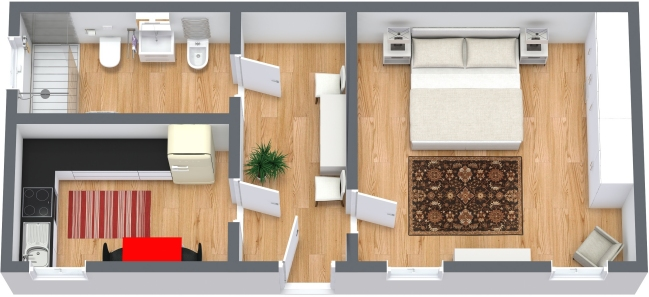 Planimetrics Apartment N.368