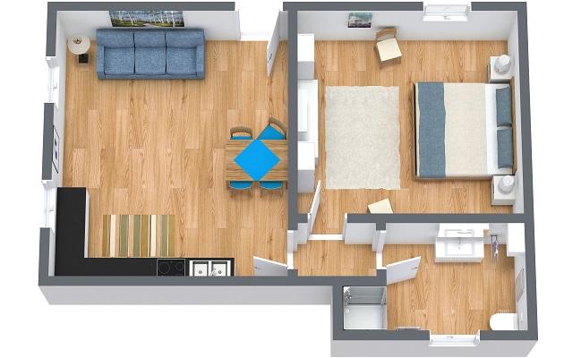 Planimetrics Apartment N.371