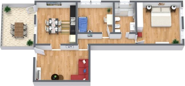Planimetrics Apartment N.373