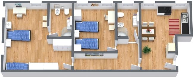 Planimetrics Apartment N.382