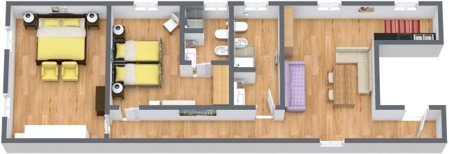 Planimetrics Apartment N.384