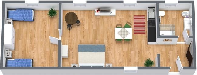 Planimetrics Apartment N.386