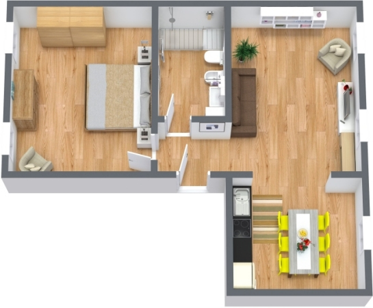 Planimetrics Apartment N.393