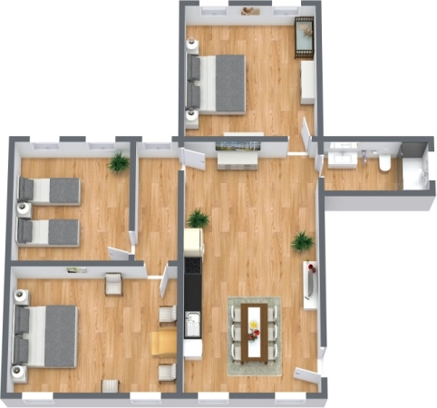 Planimetrics Apartment N.399
