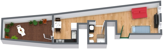 Planimetrics Apartment N.40