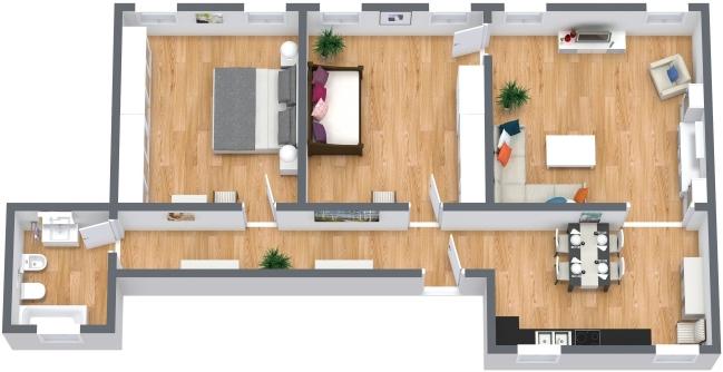 Planimetrics Apartment N.405