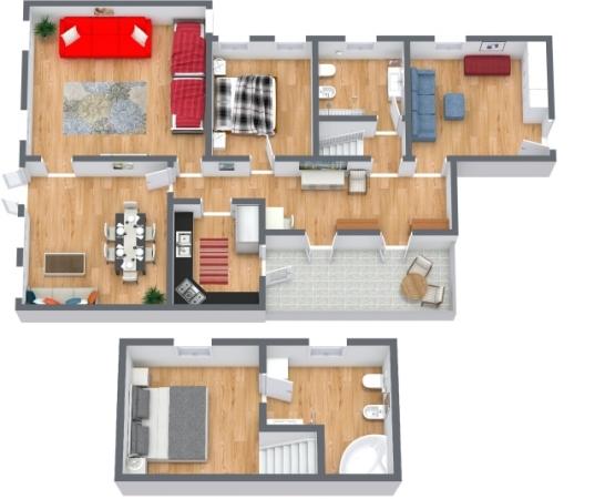 Planimetrics Apartment N.409