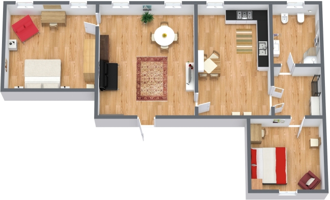 Planimetrics Apartment N.41