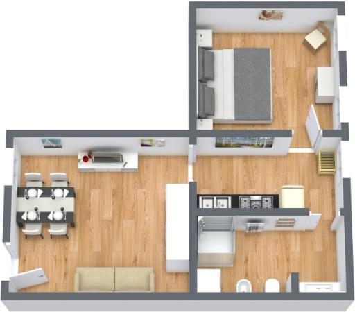 Planimetrics Apartment N.413