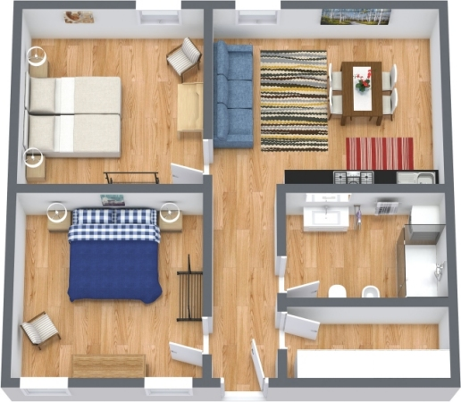 Planimetrics Apartment N.426