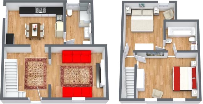 Planimetrics Apartment N.430