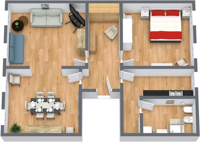 Planimetrics Apartment N.432
