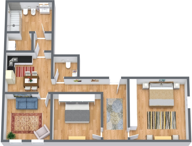 Planimetrics Apartment N.434