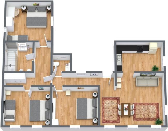 Planimetrics Apartment N.435