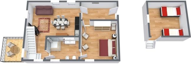Planimetrics Apartment N.437