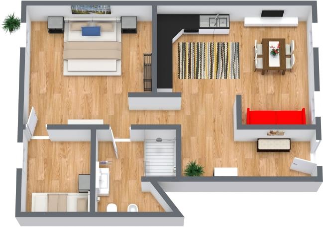 Planimetrics Apartment N.442