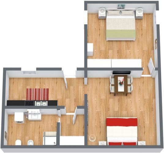 Planimetrics Apartment N.443