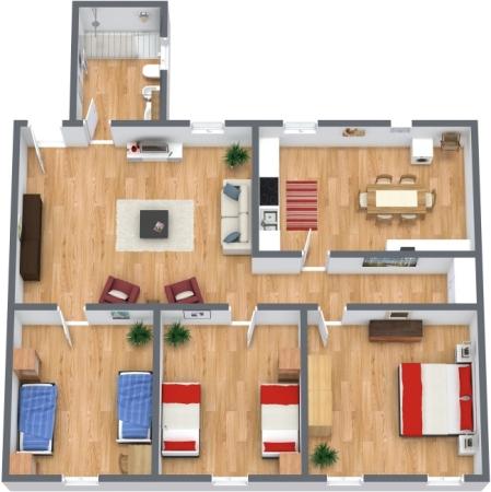 Planimetrics Apartment N.45