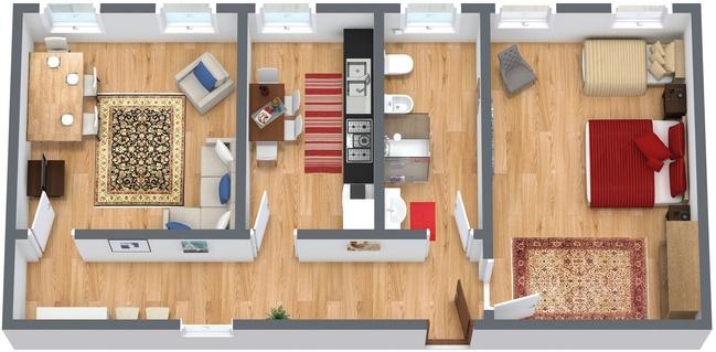 Planimetrics Apartment N.47