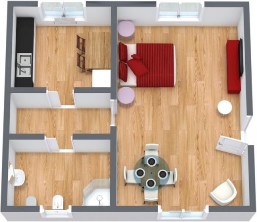Planimetrics Apartment N.85